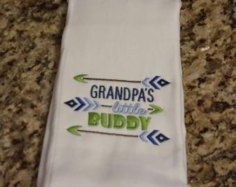 Burp cloth, baby shower gift