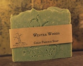 Winter Woods Cold Process Soap