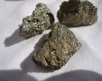 Pyrite - Prosperity, Masculine Energy, Willpower, Confidence, Vitality, Creativity, Manifestation
