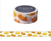 Mark's Japanese Washi Masking Tape - Japan Series / Japanese Taiyaki (Fish-Shaped Cake) 20mm wide for packaging, party deco, crafting