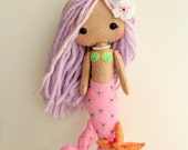 Mermaid Girl pdf Pattern - Instant Download