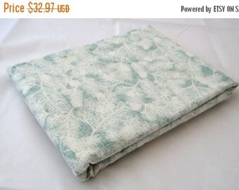 25 Off Sale WINTER'S LANE 3 yds Moda modern quilt fabric Kate & Birdie Christmas aqua mint woodland pine evergreen 3 full yards 13094-19
