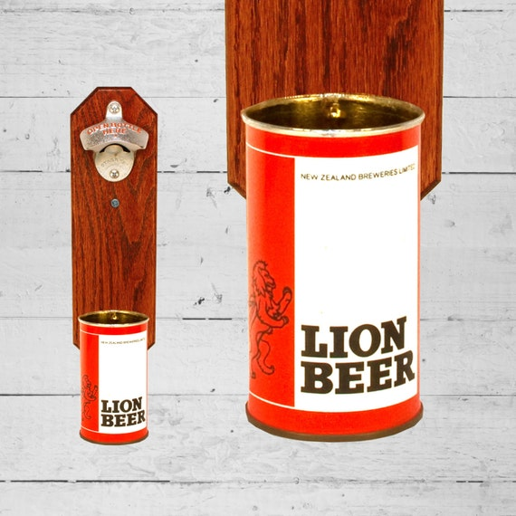 lion new zealand wall mounted bottle opener with by handysam. Black Bedroom Furniture Sets. Home Design Ideas