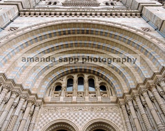 Natural History Museum London color photo