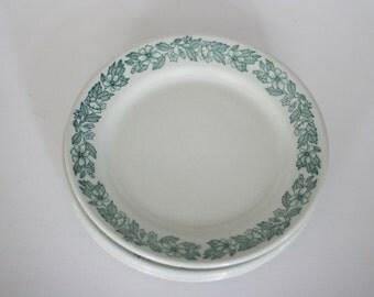 vintage shenango lawrence thriftware restaurant china plates set of four