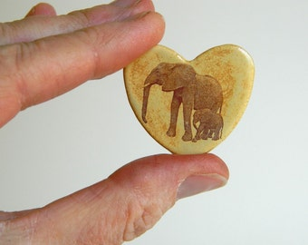 Pin - Elephant Heart - Emma & Emily