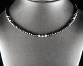 Black Spinel Gemstone Necklace