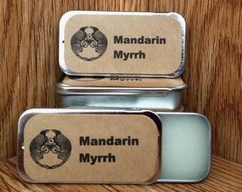 Mandarin Myrrh Solid Perfume Balm