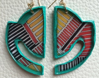 Horizon Stripes Earrings