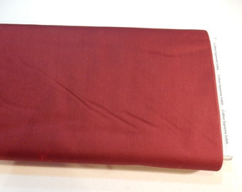 RJR Cotton Supreme Solids Quilting Fabric Bordeaux Red