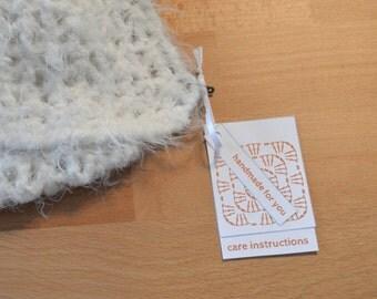 Orange Colors, Garment Gift Tags for Crochet, Printable