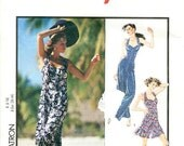 Style Jumpsuit Pattern 1746 -  Misses' Backless Jumpsuit in Two Lengths - Sz 6 -16