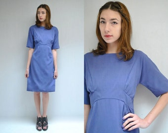 60s Mod Dress  //  Purple Dress  //  THE INGRID