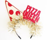 Pizza Queen Party Band - Birthday Photo Booth - Wedding - Selfie - Bachelorette