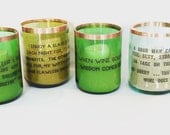 Wine Bottle, Recycled Glass Candles, wine humor, hostess gift, girl friends and wine, recycled votive, fun quotes