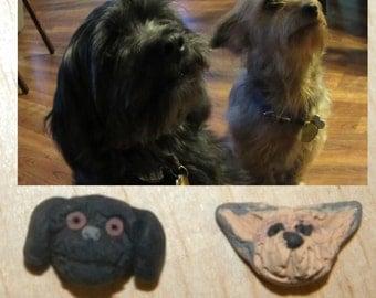 Custom Clay Dog Pet Cat Earrings