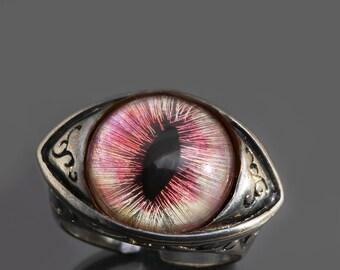 Dragon Eye Ring Evil Eye Ring Steampunk Ring Womens Steampunk