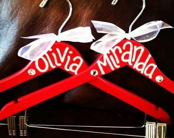 Custom order for TWENTY or MORE spirit uniform hangers