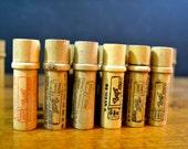 Vintage BOYE Needle Co. Wood Needle Holder w/ original needles, Display Case,  Vintage Shop Display, Advertising, Original Stock