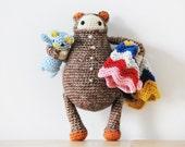 SCOUT- PDF Crochet Pattern - Amigurumi E-book