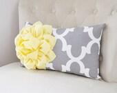 Decorative Pillow, Pillow Cover, Pillows, Throw Pillows, Yellow Pillows, Mothers Day, Nursery Pillow, Yellow Pillows, Gray Pillows, Moroccan