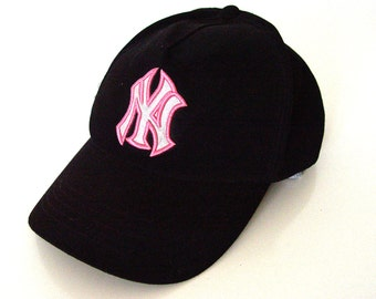 Black NY Baseball Cap.  NY New York Yankees Baseball
