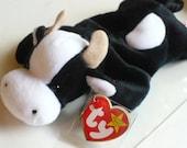 Cow Stuffed Animal Plush Toy Beanie Babies Baby Shower Gift Farm Animal