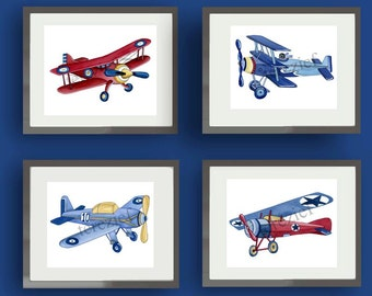 Airplane Nursery Etsy