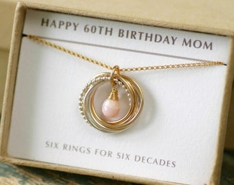 """Shop """"pink opal"""" in Necklaces"""