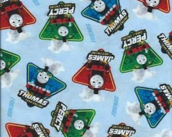 Thomas the Train - Fast Friends! from Quilting Treasures - Full or Half Yard James, Persy, Thomas - Trains