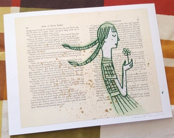 Anne of Green Gables LitKids Print, Edition #4