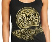 Summer Tank Top Sale - Supernatural Tank Top - Wayward Sons & Daughters Gold Tank Top - Only available until July 4th!