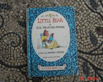 Little Bear by Else H. Minarik and Pictures by Maurice Sendak - No Writing - Sweet