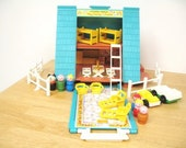 Vintage Fisher Price A-Frame House