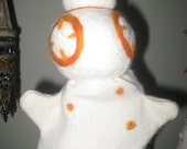 BB8 inspired hand puppet