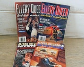 Ellery Queen and Alfred Hitchcock Mystery Magazines - Lot of 4 - 1994 Issues