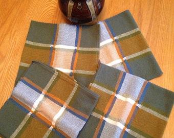 Handwoven cotton napkins - set of 4