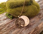Tree of Life Live Simply Necklace