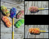 Crochet Pattern For Reusable Swiffer Duster Cover-Instant Download-Instructions-Green Cleaning-Reusable Duster-Crochet Instructions-DIY