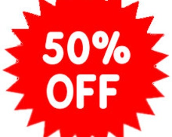 50% off SALE Storewide Use Coupon code 50PERCENTOFFSALE at Checkout on my vintage jewelry