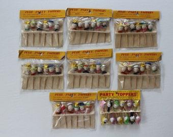 Vintage Spun Cotton Pixie Party Topper Picks