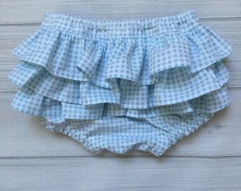 Girls diaper cover Dorothy newborn baby nappy cover blue gingham checked diaper cover toddler diaper cover Wizard of Oz newborn-   Dorothy