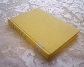 The Ivy Tree by Mary Stewart copyright 1962, vintage yellow book decor