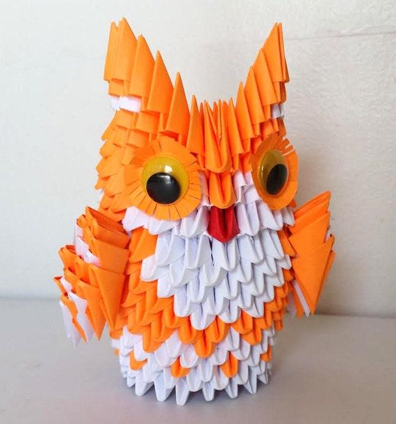 3d Origami owl medium - photo#20