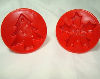 1989 Christmas Cookie Press Designs.