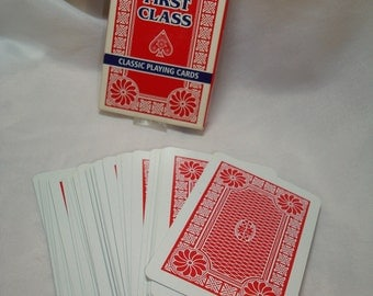 First Class Playing Cards Made in United Kingdom
