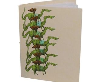 """Handbound Dragon """"Explore"""" Journal"""