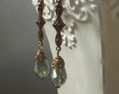Miss Fisher Earrings - Art Deco Jewelry - 1920s Flapper Earrings - Long Dangle Earrings - Downton Abbey - Gift for Her - Womens Jewelry
