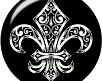 Fleur De Lis snap charm for 18-20 mm Ginger Snaps Jewelry or Noosa jewelry plus all other regular snap jewelry