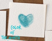 Color of the Month: Broken China, ON SALE, Dye-based ink pad for fingerprint tree, thumbprint balloon, alternative guestbook designs